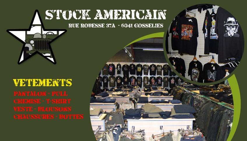 Stock americain gosselies