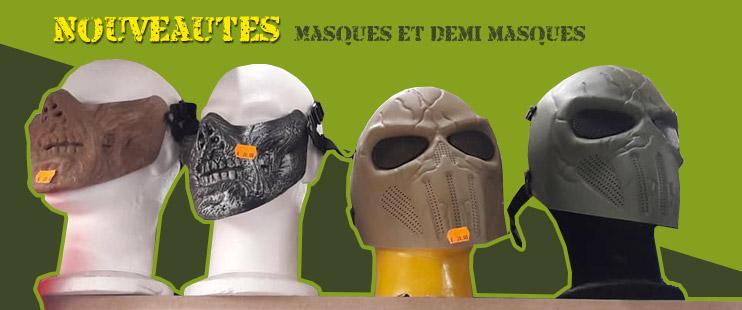 masque et demi masque stock americain gosselies